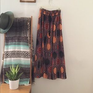 Maeve Lined Maxi Skirt